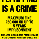 fly tipping is a crime